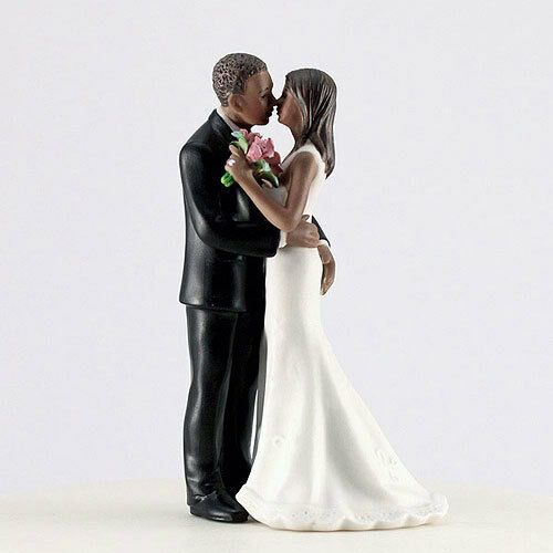 wedding cake toppers african american bride and groom squeeze american cheeky wedding 26375