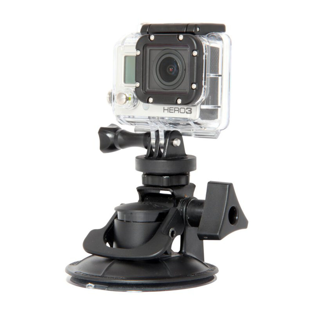 Delkin Fat Gecko Stealth Vacuum Camera Mount for GoPRO -> Free US ...