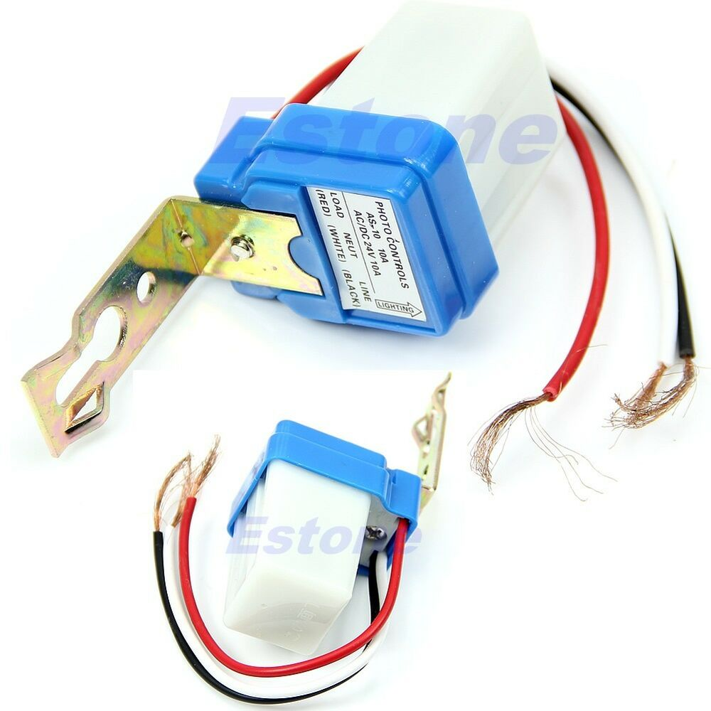Photocell Wiring Test Great Design Of Diagram A Sensor Switch Ac Dc 24v 10a Auto On Off Street Dusk To Dawn
