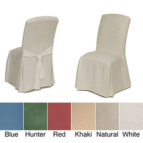 Classic Slipcovers Cotton Duck Parsons Chair Slipcover
