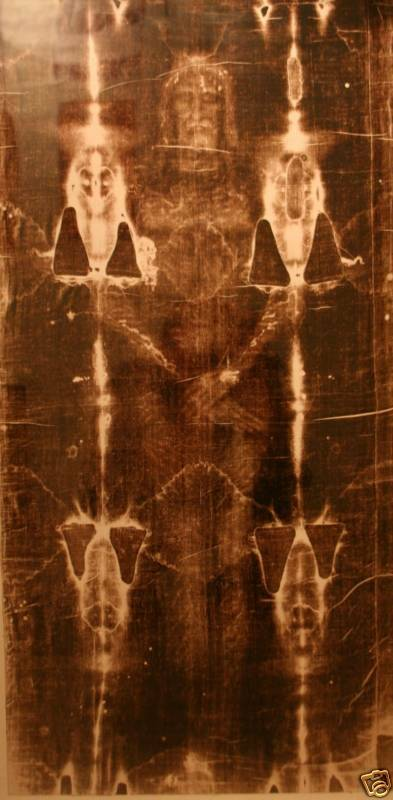 SHROUD OF TURIN...Framed image of Jesus Christ on cloth | eBay