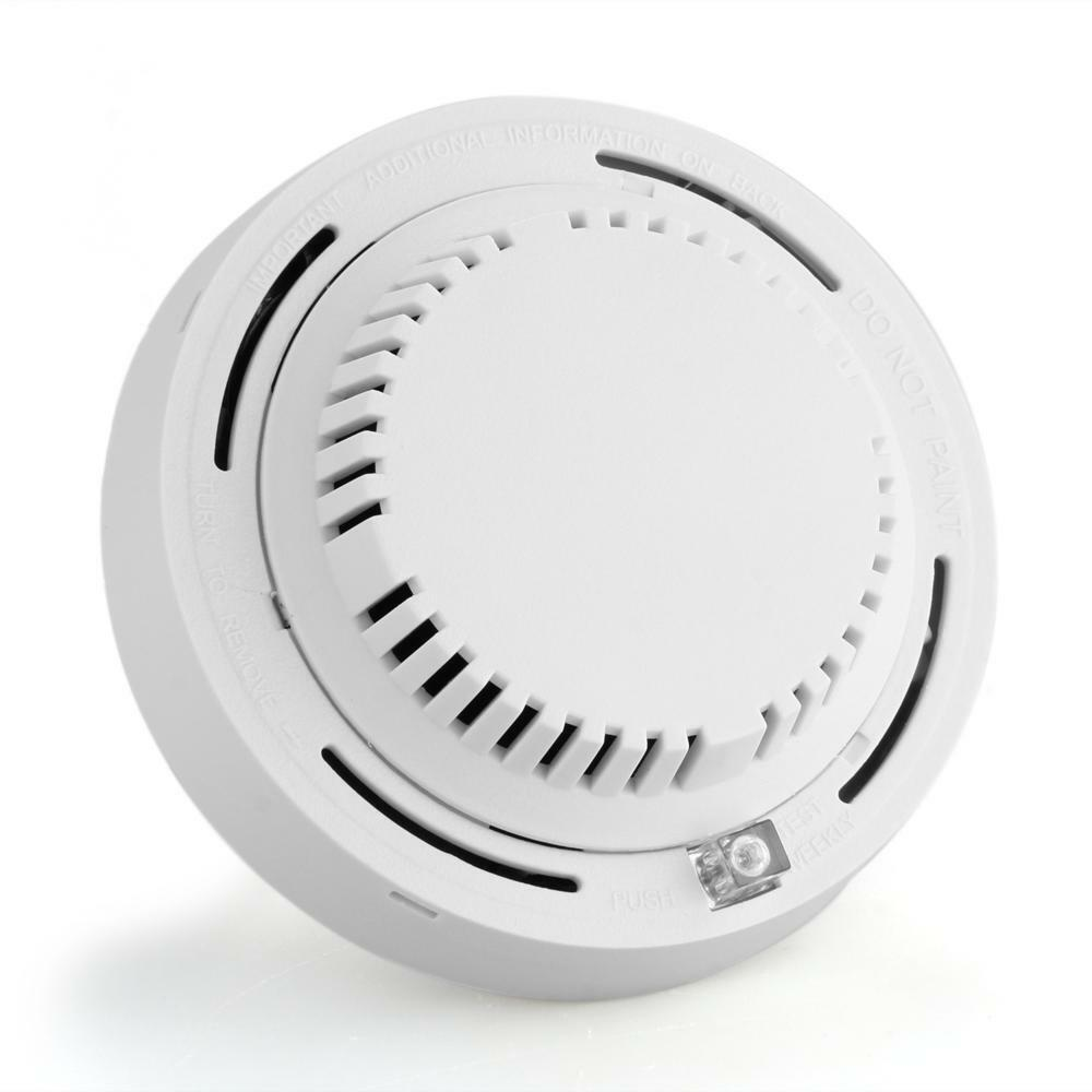 wired smoke detector for fire alarm system home security. Black Bedroom Furniture Sets. Home Design Ideas