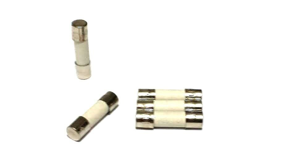 10a Ceramic Fuses Lot Of 5 F10al250v F10al 250v 5mm X 20mm