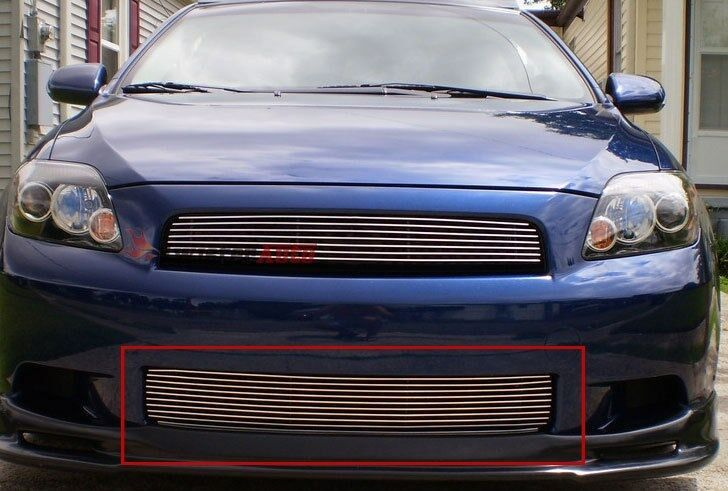 billet grills insert fits 08 10 scion tc front grille. Black Bedroom Furniture Sets. Home Design Ideas