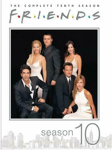 Tv Show Poster Friends American Drama Movie Vintage: Complete 10th Tenth Season 10 Ten