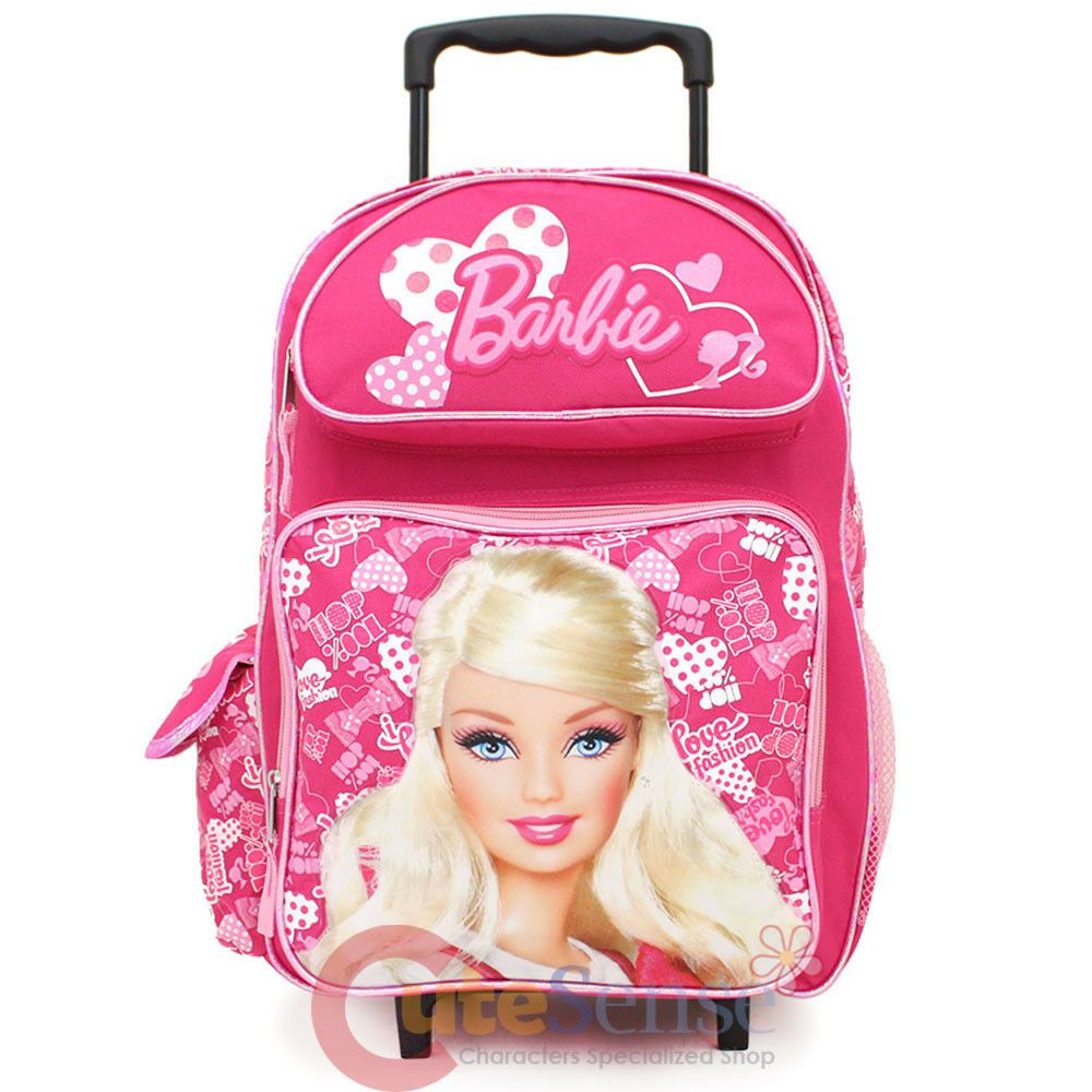 Barbie Rolling Backpack - Crazy Backpacks