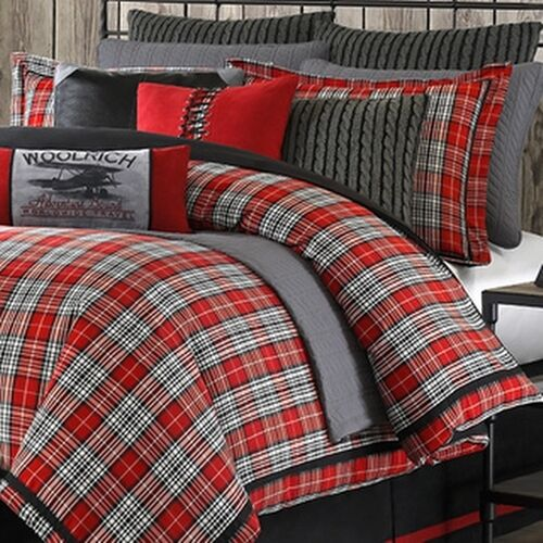 Woolrich Williamsport Plaid 4 Piece Comforter Set Ebay
