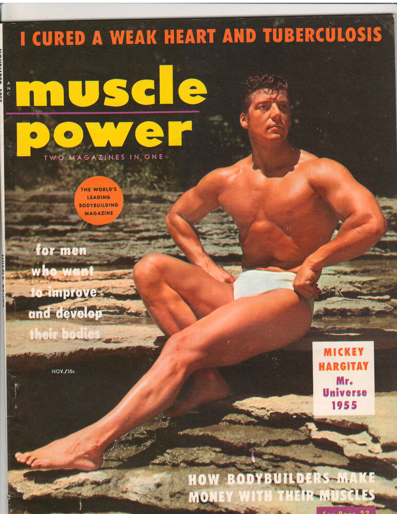 MUSCLE POWER bodybuilding fitness magazine/Mr Universe ...