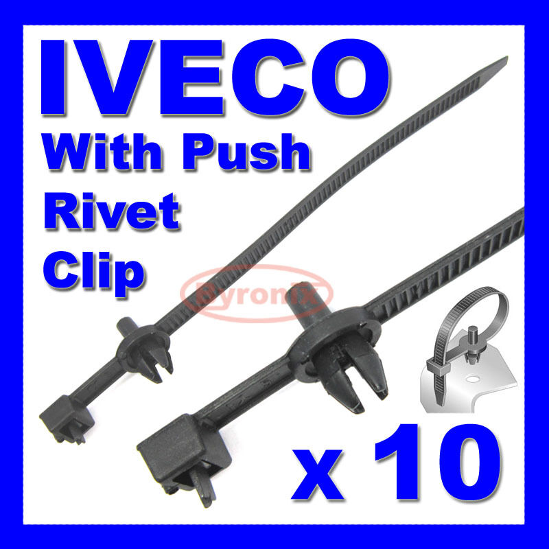 iveco cable ties zip tie wrap push rivet clip wiring loom Trailer Wiring Harness Automotive Wiring Harness