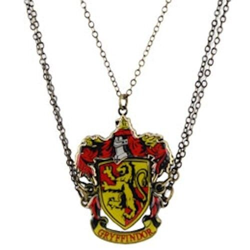 harry potter gryffindor crest friendship necklace 3