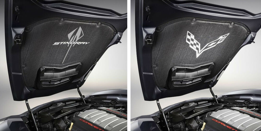 Corvette C7 Stingray >> 2014 C7 Corvette Stingray Genuine GM OEM Underhood Liner with Logo | eBay