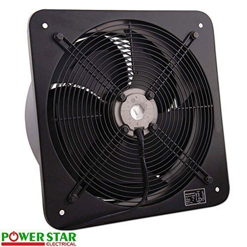 Paint Booth Axial Exhaust Fans : Industrial ventilation extractor metal axial exhaust