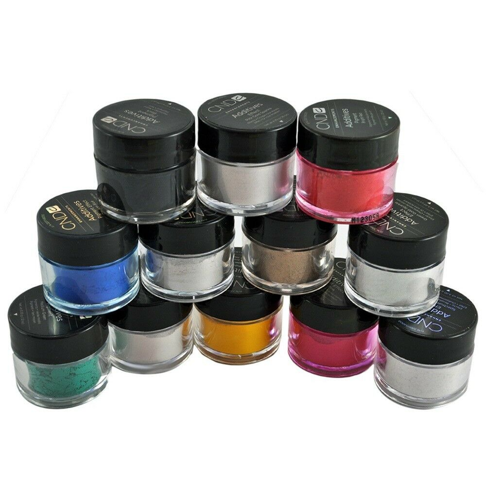 Chrome Nail Powder Cnd: CND Creative Nail Additives Powder For Shellac Gel Colored