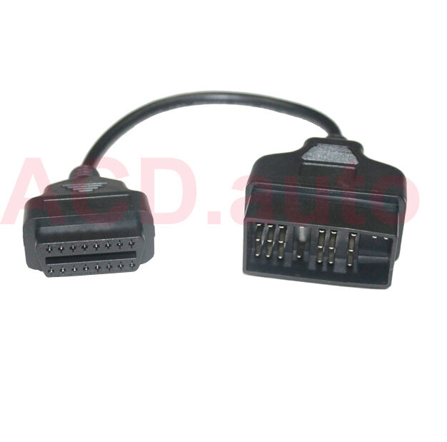 Cable Fault Scanner : Pin to obd ii adapter connector for toyota car cable