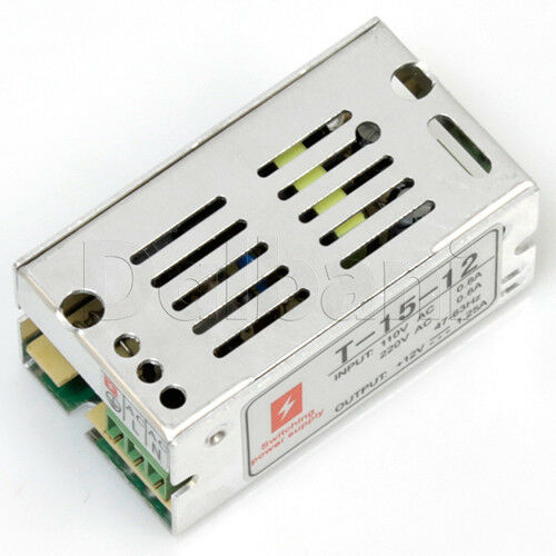 regulated switching power supply 15w watt dc 12v volt 1 Switching Power Supply AC PA Switching Power Supply