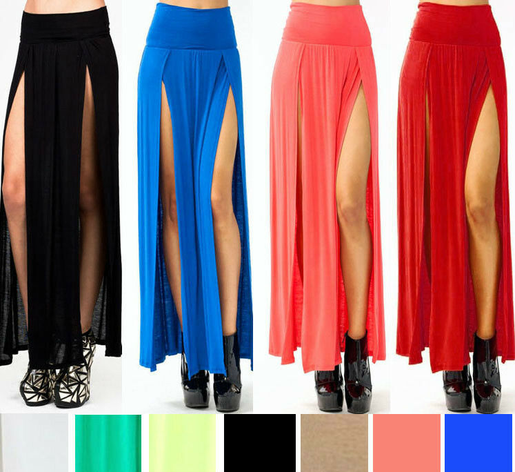 African Print High Waist Maxi Skirts SEXY TRENDS HIGH WAISTED