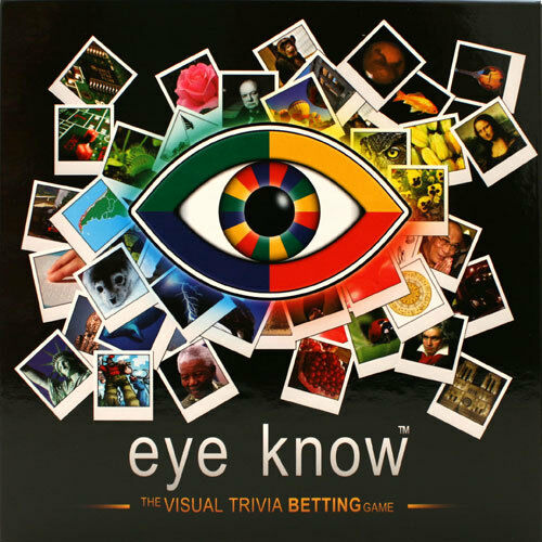 Family Board Game Wiggles Eye Know Visual Trivia Betting ...