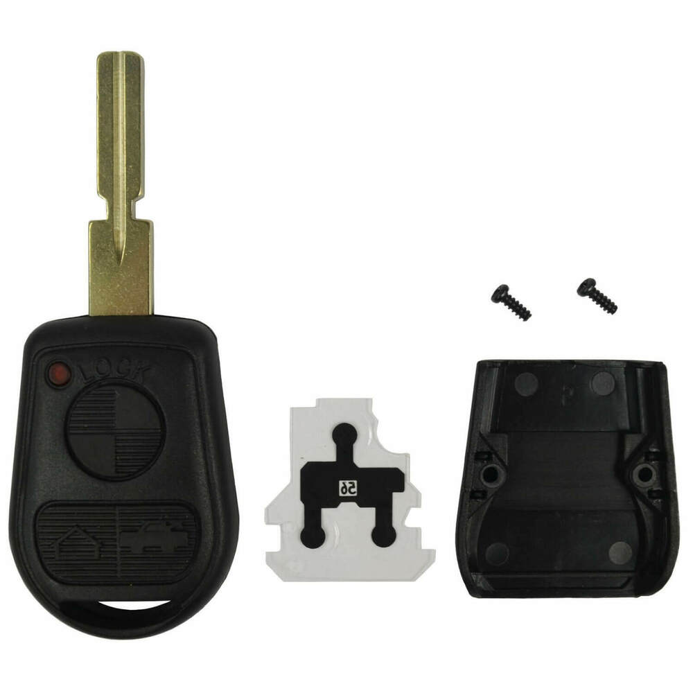 New Remote Key Keyless Fob Replacement Rubber Case Housing