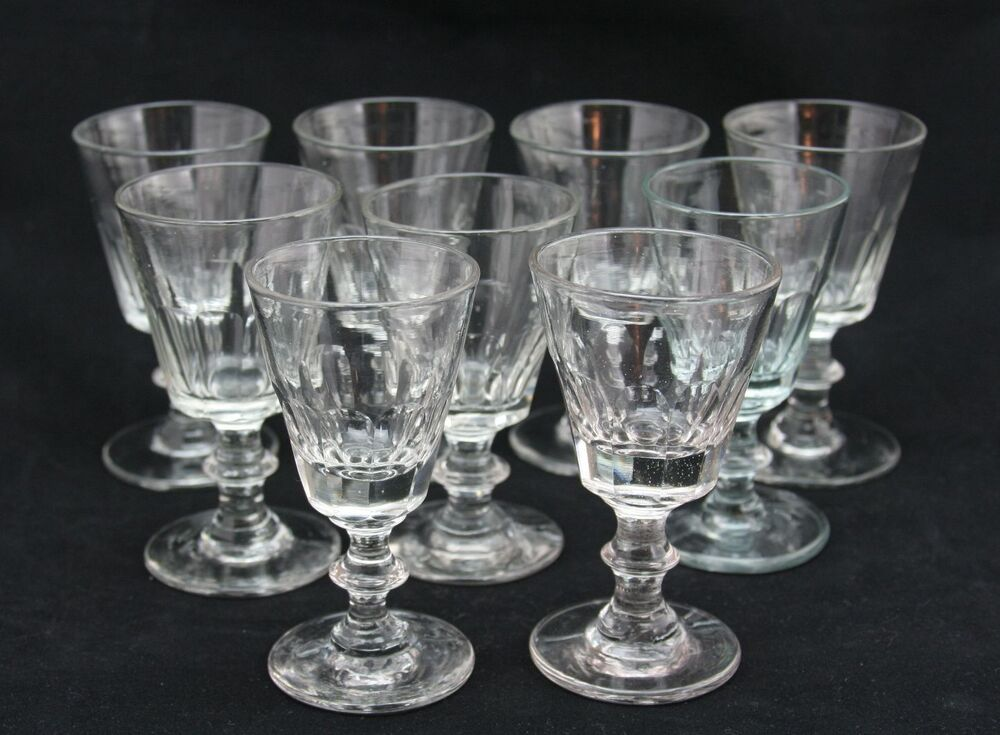 Antique Sherry Glasses