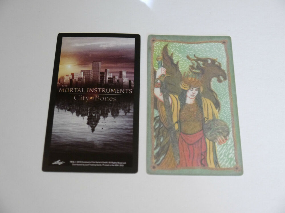 Tarot in Pop Culture - The Mortal Instruments Movie and ... |Mortal Instruments Cards