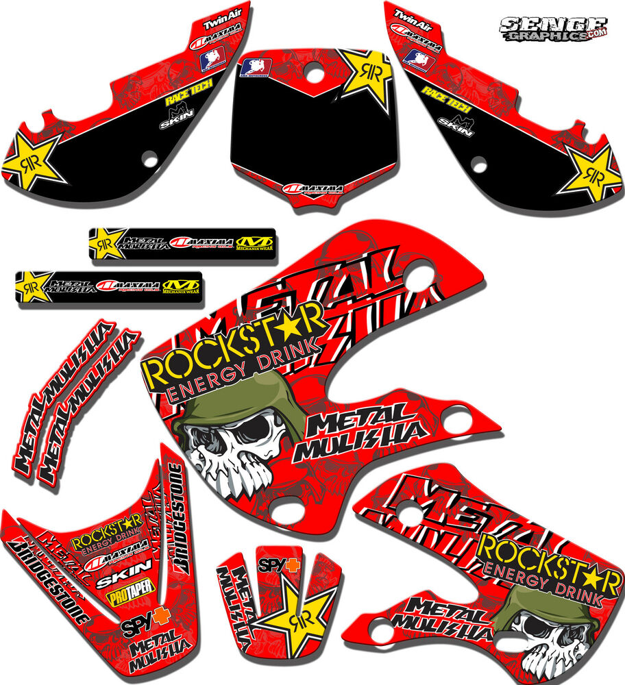 Cr250 Decals – Name