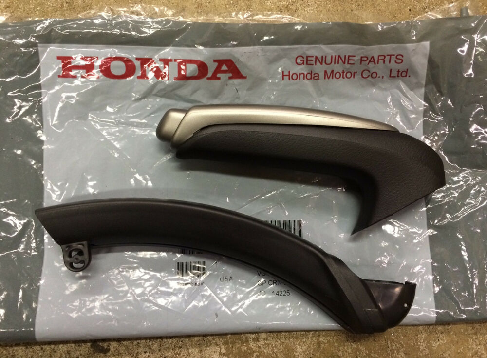 genuine oem honda civic parking brake handle 2006 2011 emergency ebrake ebay. Black Bedroom Furniture Sets. Home Design Ideas