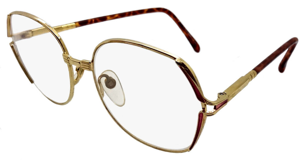 Large Frame Retro Reading Glasses : 4 PAIRS LARGE RETRO READING GLASSES GOLD METAL FRAME PINK ...
