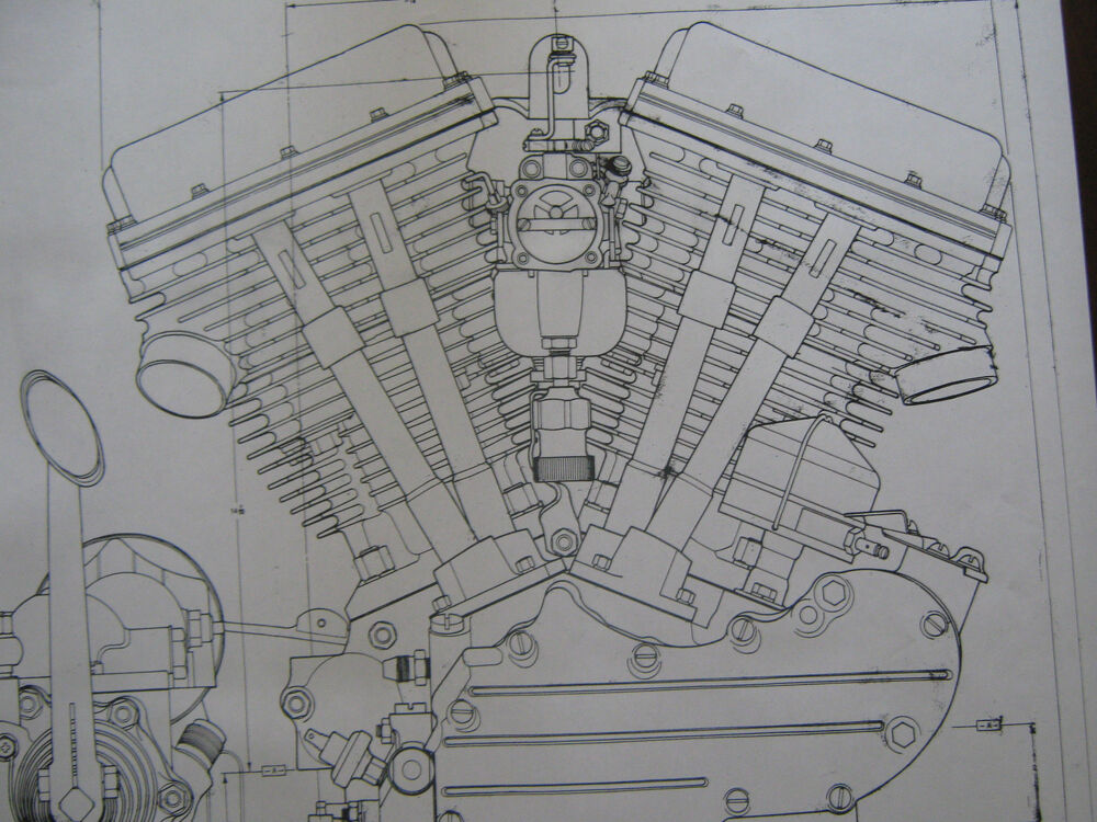 S L on V Twin Motorcycle Engine Diagram