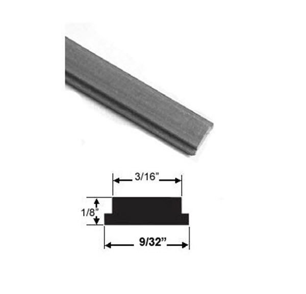 Flexible Rail Magnet Insert For Swinging Shower Doors 84