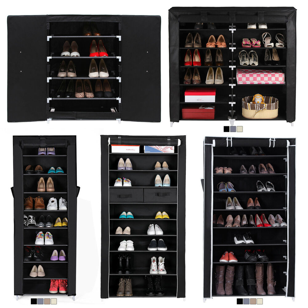 schuhregal schuhablage schuhschrank schuhst nder stoff. Black Bedroom Furniture Sets. Home Design Ideas