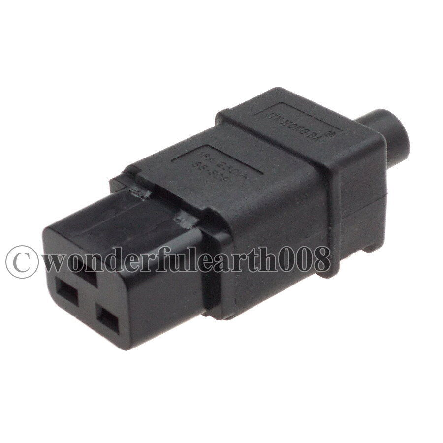 iec 320 standard power cable cord connector c19 receptale. Black Bedroom Furniture Sets. Home Design Ideas