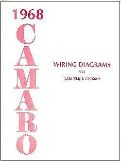 1968 68 CAMARO WIRING DIAGRAM MANUAL | eBay