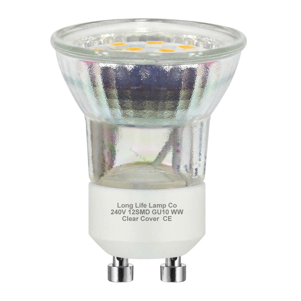 3w mini gu10 smd led halogen replacement for small gu10 35mm very bright ebay. Black Bedroom Furniture Sets. Home Design Ideas