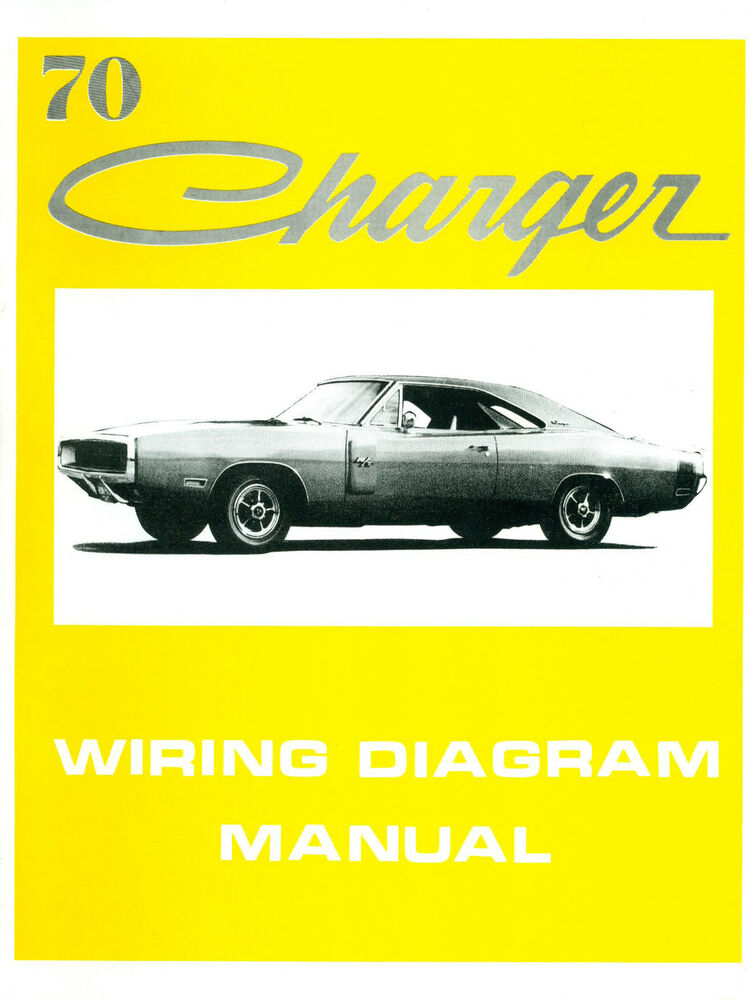 70 camaro engine wiring diagram 1970 70 dodge charger wiring manual | ebay