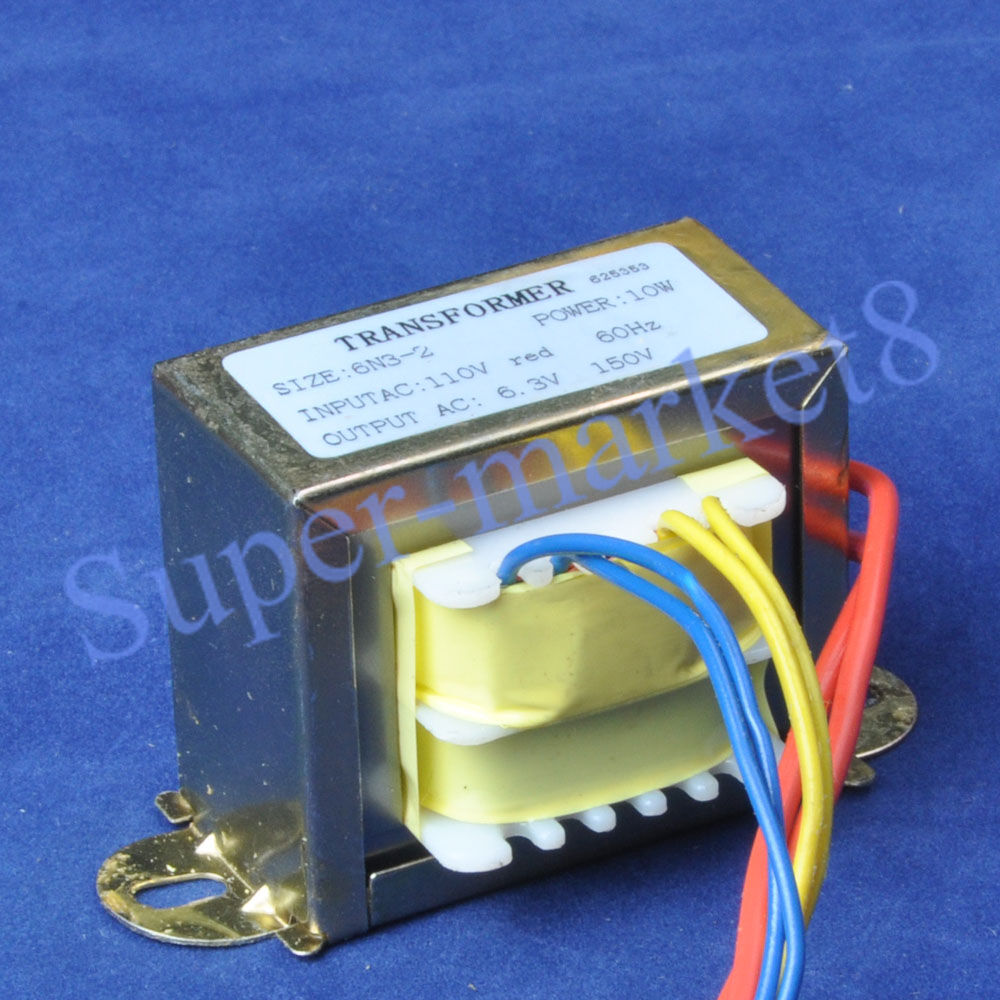 115 230vac in 110vac 9 5vac out 50w power transformer f audio preamp amplifier ebay. Black Bedroom Furniture Sets. Home Design Ideas
