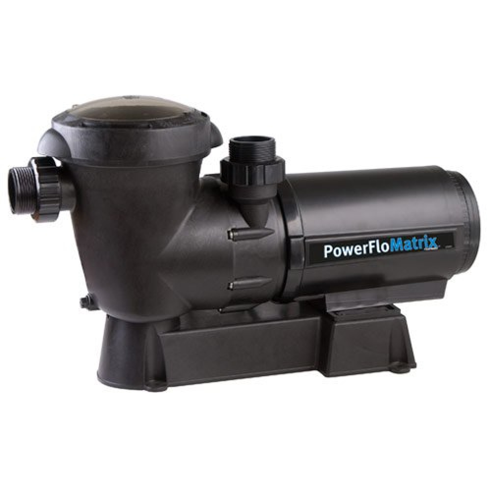 Hayward power flo sp1593 matrix 1 5 hp swimming pool above for Hayward 1 1 2 hp pool pump motor