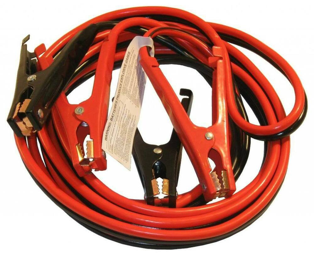 Jumper Booster Cables Heavy Duty 20ft 4ga Car Truck