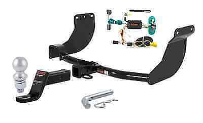 curt class 3 trailer hitch tow package for ford transit connect ebay. Black Bedroom Furniture Sets. Home Design Ideas