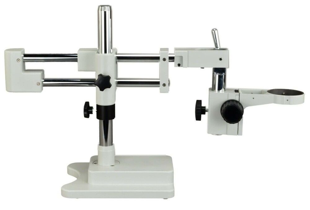 Omax Double Arm Stereo Microscope Boom Stand Heavy Duty W