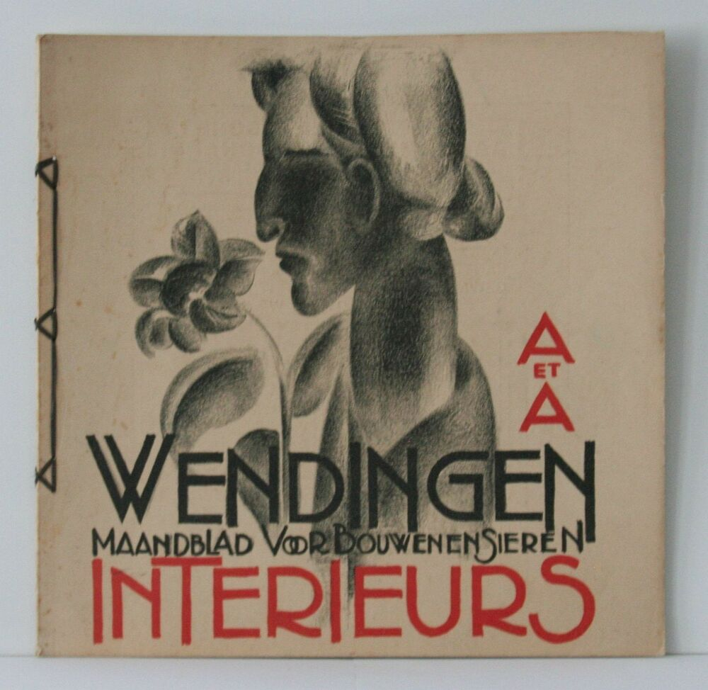 Wendingen art deco magazine 1927 no 2 dutch interior for Deco design magazine