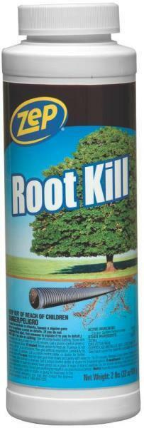NEW ZEP ZROOT24 ROOT KILL 2 LB SEWER & SEPTIC PLUMBING LINE ROOT KILLER 9812074 21709007350