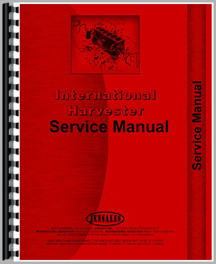 Parts manual for 9400i international