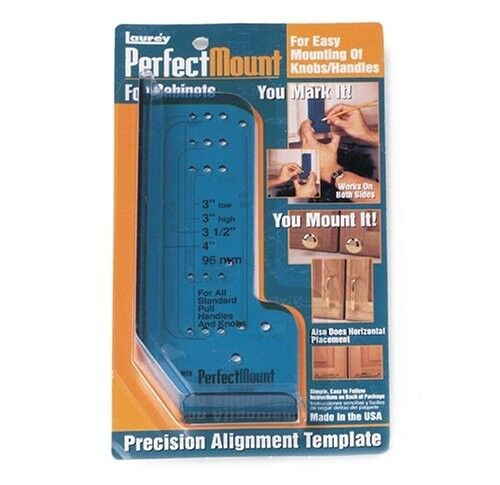 Perfect Mount For Kitchen Cabinets Knobs / Pulls Alignment