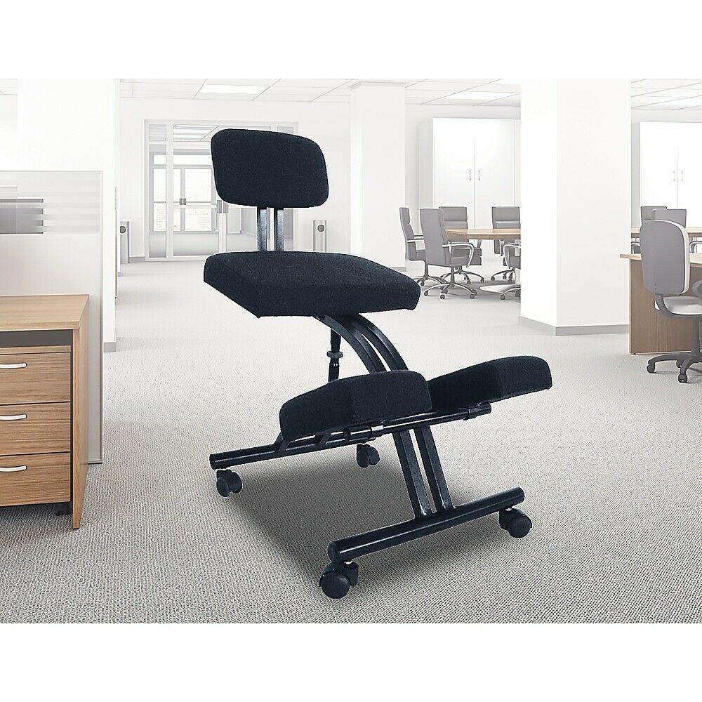 Ergonomic Office Kneeling Chair Knee Yoga Posture Sit Back ...
