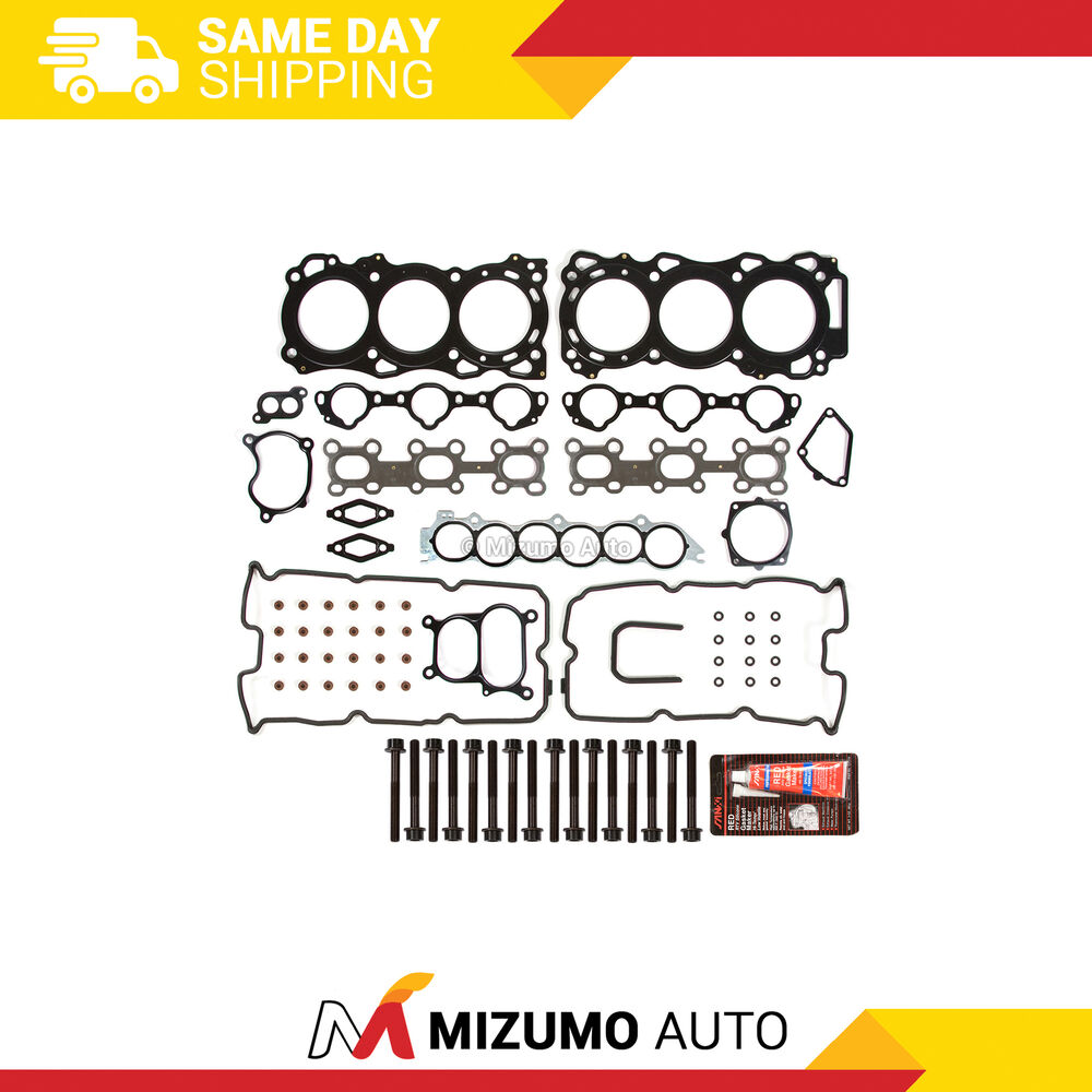 Head Gasket Bolts Set Fit 02-09 Nissan Altima Infiniti I35
