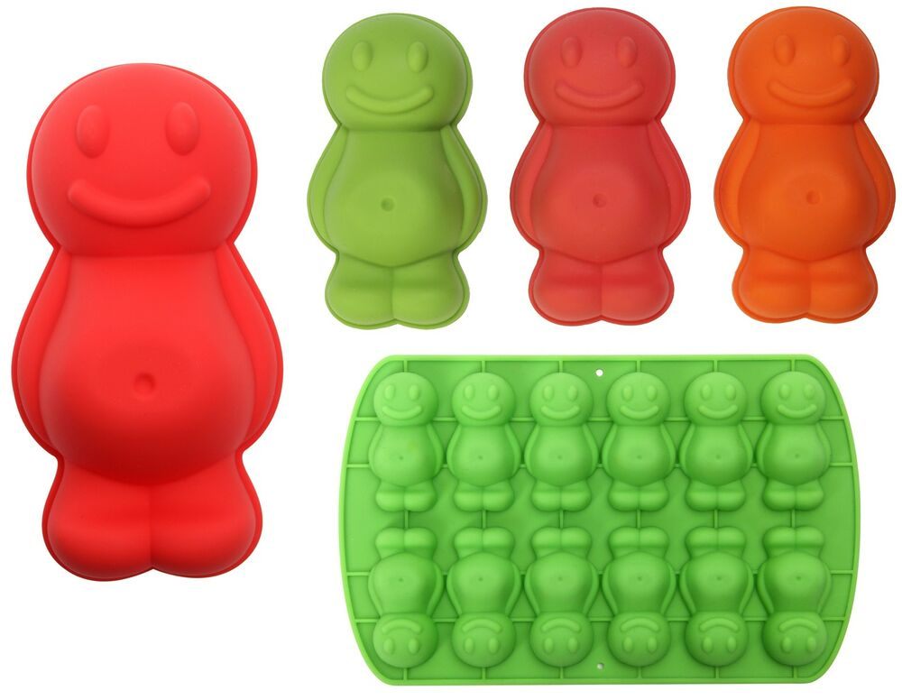 Dexam Silicone Jelly Baby Moulds Mold Chocolate Jellies