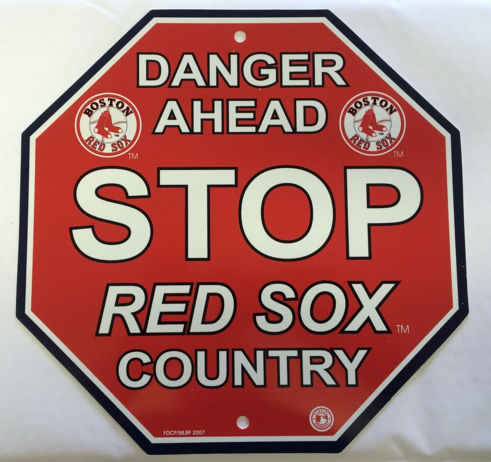Boston Red Sox Stop Sign Room Bar Decor New Ebay Home Decorators Catalog Best Ideas of Home Decor and Design [homedecoratorscatalog.us]