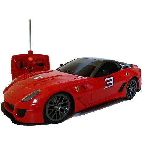 XQ R/C RADIO REMOTE CONTROL CAR FERRARI 599XX RED 1/18 NEW ...