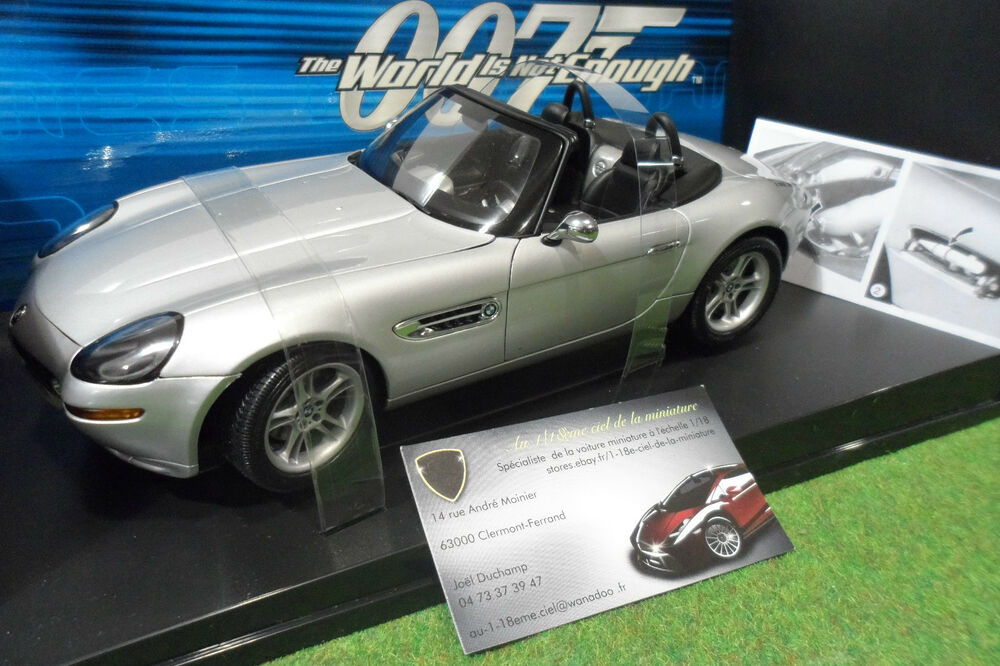 Bmw Z8 Cabriolet Silver 007 James Bond World Is Not Enough