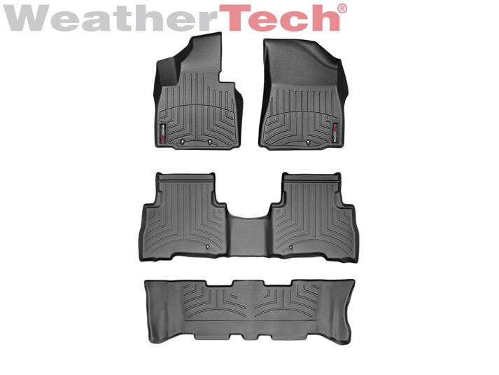 2018 Ford Explorer All Weather Floor Mats 2017 2018